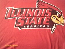 Men'S Red Illinois State Red Birds T Shirt Size 2Xl