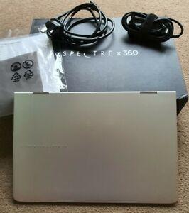 "HP Spectre x360 13.3"" 1TB SSD i7 8GB RAM Touch Laptop/tablet, USB 3 Ultrabook."