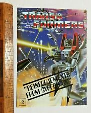 VINTAGE TRANSFORMERS G1 DIACLONE TYPE ACTION FIGURE AUSSIE ADDRESS MAIL-IN OFFER