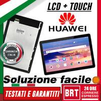 "DISPLAY LCD+TOUCH SCREEN HUAWEI MediaPad T5 10"" AGS2 AL00HN AGS2-L09 W09 VETRO!!"