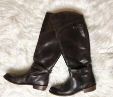 Beautiful Brown Frye Moto Tall Boots Size 8