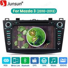 Car Stereo Radio for Mazda 3 2010-2013 Gps Cd Dvd Usb Player 2Din Navigation Dab