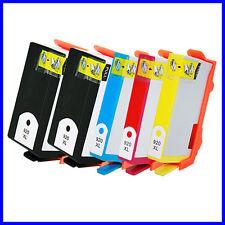 5 Reman HP 920 XL Ink Cartridge For OfficeJet 6000 6500 6500A 7000 7500