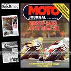 MOTO JOURNAL N°310 TRIUMPH 750 BONNEVILLE HERCULES 240 GS 200 MILES IMOLA 1977