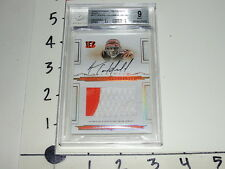 Andre Caldwell 2008 NATIONAL TREASURES #117 Jersey Auto Bengals/Broncos Mint RC