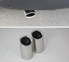 CHROME EXHAUST MUFFLER TIP PIPE VOLVO XC60 S60 2010 2011 2012 2013 V40 V60 2013