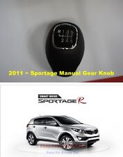 For 2011 ~ KIA Sportage R 6 Speed Manual Gear Shift Lever Knob Genuine parts OEM