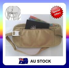 Travel Security Waist Pouch Passport Money Card Ticket Belt Bag Hidden Wallet