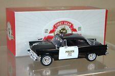 FIRST GEAR 10-3349 1956 FORD SEDAN ST. LOUIS POLIZEI Auto keine 251 NEUWERTIG na