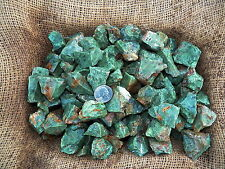 2000 Carat Lots of Chrysoprase Rough - Plus a Faceted GEMSTONE