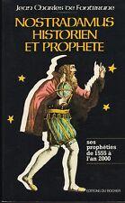 Nostradamus-historique et prophete (avec quelques fig.) 1980