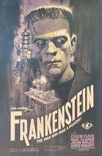 """FRANKENSTEIN 1931 repro Ltd Ed. Poster 36x24"""" Universal Horror James Whale rare"""
