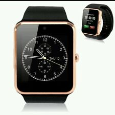 New Touch Screen Bluetooth Smart Watch GT08 Phone for Samsung & IOS iPhone -Gold