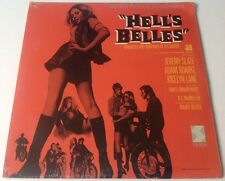 HELL'S BELLES~LES BAXTER~Rare 1969 PROMO Psych Funk Soundtrack/Ost LP **SEALED**