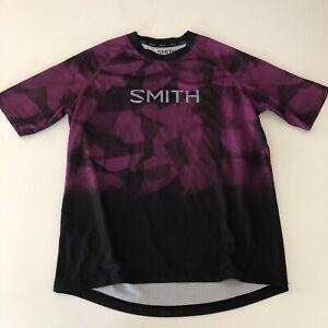 Smith Optics MTB Jersey Size Small Men's Purple Cycling Jersey