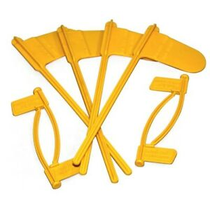 Pistol and Rifle Chamber Indicator Flags 8 Pack (Yellow)