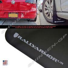 "Rally Armor UR ""Black Mud Flaps Grey Logo"" for 2015+ VW MKVII Golf TSI, GTI"