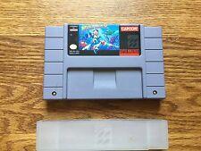 Mega Man X Super Nintendo SNES genuine oem authentic official real mega man 10