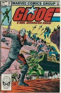 1983 Marvel - G.I. Joe # 14 - 1st Full Destro - Nice Condition