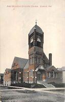 Indiana In Postcard c1910 DUNKIRK First Methodist Episcopal Church