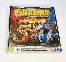 Stratego Classic Game Of Battlefield Strategy Board Game Sci-Fi Theme SpinMaster