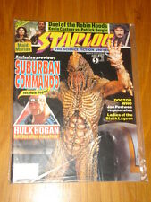 STARLOG #167 SCI-FI MAGAZINE JUNE 1991 SUBURBAN COMMANDO HULK HOGAN DOCTOR WHO