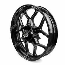 CNC Front Wheel Rim For Yamaha YZF R1 YZFR1 2015-2017 Black US Stock