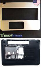 New HP ENVY M6-N 15-Q Upper Palmrest Case 774153-001 & Bottom Case Cover USA