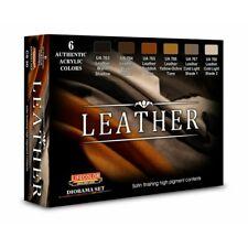 Lifecolor CS30 Leather Set Acrylfarben 6x22 ml (100ml=13,64€) Leder