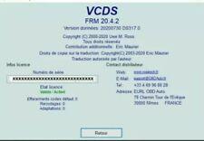 Vagcom vcds 20.4.2 France ( livraison rapide par mail )