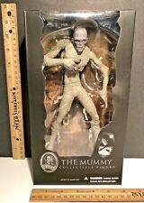 "UNIVERSAL STUDIOS Monsters THE MUMMY 9"" BORIS KARLOFF Collectible Figure MEZCO"