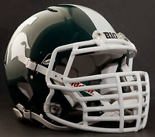 "MICHIGAN STATE SPARTANS ***MINI*** Football Helmet Nameplate ""BIG"" Decal/Sticker"