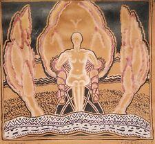 ANTIQUE ART DECO NUDE FINE ART PAINTING FENCOTT HINSDALE CHICAGO LAND IL ROPP