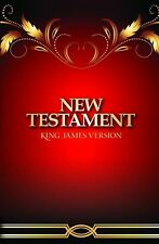 The Holy Bble King James Version  New Testament / Soft Cover / Buy 4 Get 6 Free