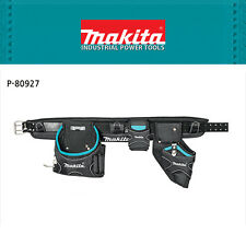 Genuine Makita Electricians Construction Work Hand Tool Belt with Three Pouches