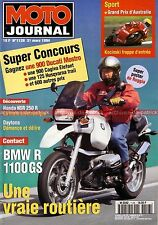 MOTO JOURNAL 1128 KAWASAKI 350 A7 Avenger SS Essai BMW R1100 GS HONDA NSR 250 R