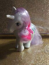 Vintage My Little Pony Figure G1Sparkler Generation 1unicorn pony 1984