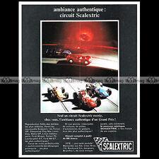 SCALEXTRIC 1969 CIRCUIT SLOT CAR RACING VINTAGE - Pub / Publicité / Ad #A1560