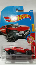 HOT WHEELS 6/10 TRACK STARS THEN AND NOW PROJECT SPEEDER 289/365 RED