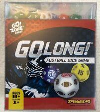 Football Dice Game GoLong NEW SEALED BOX