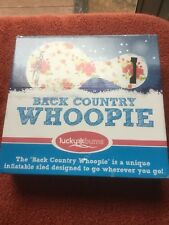 Lucky Bums Inflatable Backcountry Whoopie Snow Sled Pink Rose