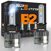 BPS Lighting B2 Series H1 LED Headlight Bulbs Conversion Kit 12000LM 100W