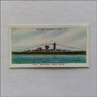 Wills Speed 44 The Admiral Graf Spee Cigarette Card (CC3)