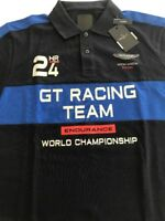 Hackett Men's Slim Fit Aston Martin Racing Polo Shirt RRP £105 Size L