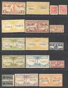 PHILIPPINES Revenue Stamps lot of 26