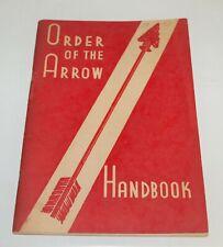 BSA - OA…ORDER OF THE ARROW HANDBOOK…1951 PRINTING