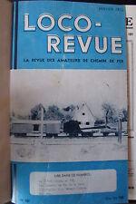 MODELISME FERROVIAIRE TRAIN MAGAZINE LOCO REVUE 11 NUMEROS ANNEE COMPLETE 1952