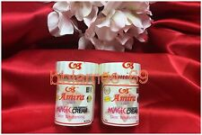 2 Real AMIRA Magic Cream FRECKLE Skin Whitening Bleaching Whitener KSA 60g