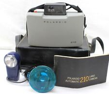Vintage POLAROID 210 Automatic Land Camera w/Flash, Manual
