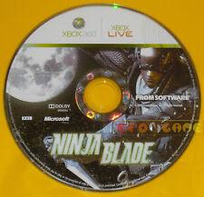 NINJA BLADE XBOX 360 Versione Europea »»»»» SOLO DISCO
